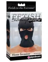 FETISH FANTASY SERIES HOME INVASION HOOD -maska kominiarkowa z otworami