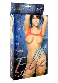 CELEBRITY ELLE LOVE DOLL - klasyczna lalka wzorowana na ciele modelki