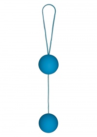 Toy Joy FUNKY LOVE BALLS BLUE - kulki gejszy silky touch