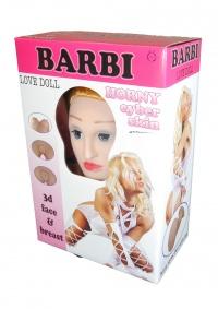 3D LOVE DOLL BARBIE - realistyczna lalka z wibracjami + komponenty z cyberskóry