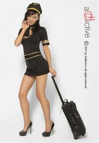 ADDICTIVE LINGERIE - PILOT COSTUME - seksowny kostium pilotki