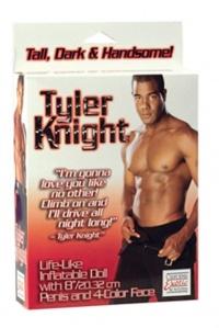 TYLER KNIGHT - lalka mężczyzny  z wielkim murzyńskim penisem