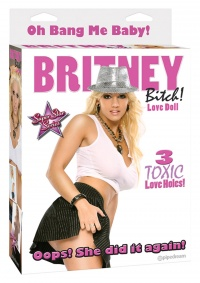 SUPER STAR SERIES -BRITNEY BITCH DOLL-Oops! She did it again!