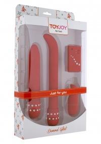 Toy Joy DIAMOND - RED GIFT SET - diamentowy zestaw
