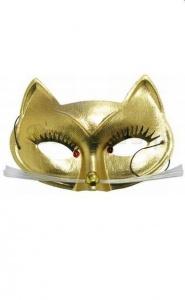 PARTY FUN- CLASSIC MASK - maska na oczy kotek