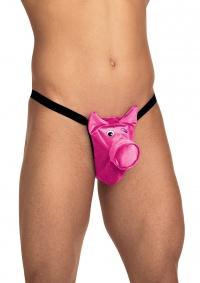 Roxana - PINK PIG  - stringi męskie różowa świnka