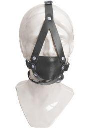 LEATHER MAKS - maska pokrak - skóra