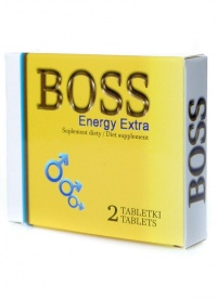 BOSS ENERGY EXTRA MALE POTENCY TAB - silnie działające tabletki erekcyjne