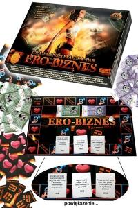 GRA ERO - BIZNES - erotyczna gra planszowa dla par