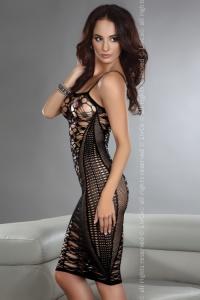 BODYSTOCKING - erotyczna sukienka mini