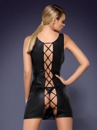Obsessive - OBSYDIAN DRESS - drapieżna sukienka + stringi