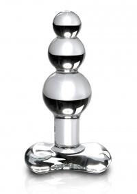 CRYSTAL ICICLES DILDO - elegancki stymulator krystaliczny