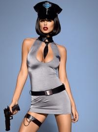 Obsessive - POLICE DRESS - seksowny kostium policjantki