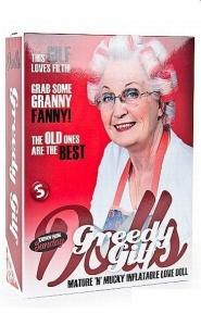 S-LINE GREEDY GILF DOLL - lalka gorąca babcia