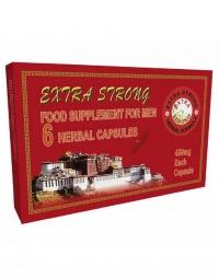 EXTRA STRONG ERECTION - bardzo mocny środek na erekcję / działa jak viagra