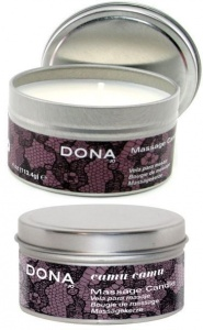 DONA  CLASSIC MASSAGE CANDLE CAMU CAMU - świeca do masażu