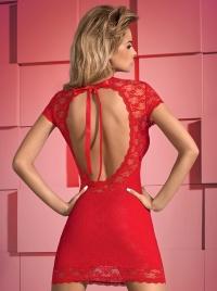 Obsessive - DRESSITA RED - romantyczna sukienka