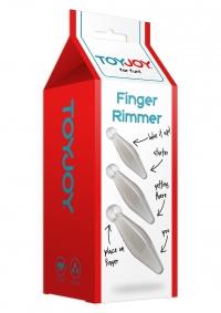 FINGER RIMMER - markowy zestaw mini członków analnych