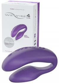 BESTSELLER - WE VIBE 4 PLUS APP ONLY- stymulator dla par