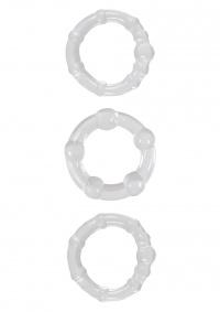 RENEGADE STAY HARD - zestaw pierścieni dla mężczyzn