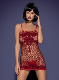Obsessive - MINI DRESS - seksowna, elastyczna sukienka mini