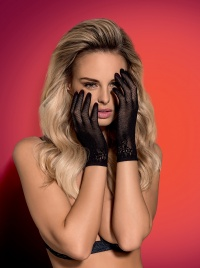 Obsessive - LUSTELLA GLOVES - eleganckie rękawiczki