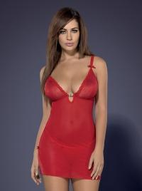 Obsessive - ROMANSIA CHEMISE  -sexy koszulka + stringi
