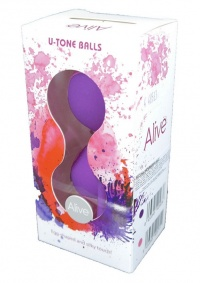 ALIVE KEGEL U-TONE LOVE BALLS - profesjonalne kulki gejszy do stymulacji mięśni Kegla