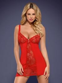 Obsessive - HEARTINA CHEMISE - sexy koszulka + stringi