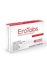 EroTabs ERECTION - mocny środek na erekcję / działa jak viagra