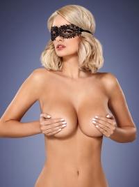 Obsessive - GUIPURE LOVE MASK - seksowna maska przysłaniająca oczy