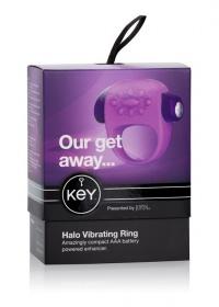 BESTSELLER HALO VIBRATING RING - ekskluzywny pierścień stymulujący /silikon
