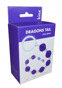 DRAGONS TAIL ANAL BEADS -  koraliki analne na pałąku