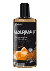 WARMup CARAMEL - rozgrzewający, jadalny olejek do masażu erotycznego