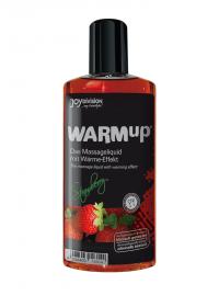 WARMup STRAWBERRY - rozgrzewający, jadalny olejek do masażu erotycznego