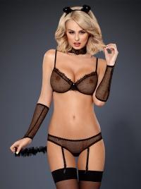 Obsessive - CATI - seksowny kostium kocicy - 6 częściowy
