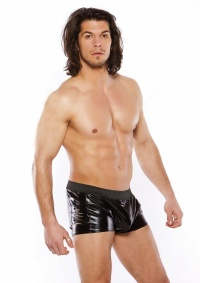 beAgressive by ALLURE - elektryzujące bokserki męskie z rozdarciami