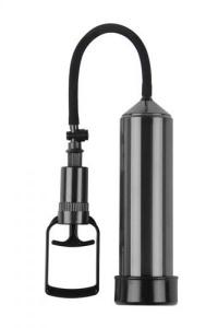 PUMP PUSH TOUCH BLACK - specjalistyczna pompa powiększająca penisa