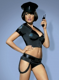 Obsessive - POLICE SET - drapieżny kostium policjantki
