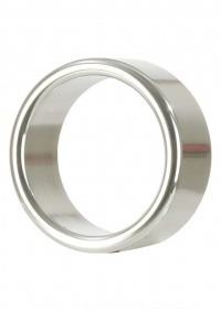 HEAVY METAL XTRA- szeroki, metalowy ring na penisa - rozmiar L