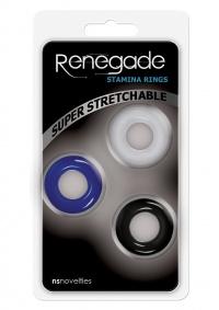 RENEGADE STAMINA RINGS - zestaw pierścieni dla mężczyzn