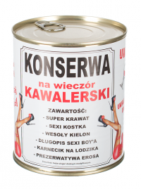 PARTY FUN - KONSERWA - na wieczór kawalerski