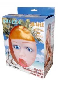 LOLITA LOVE DOLL - 3D FORMED FACE - realistyczna twarz