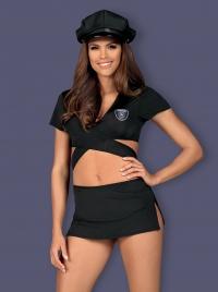 Obsessive - POLICE UNIFORM  - figlarny kostium seksownej policjantki