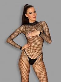 Obsessive -  BODYSTOCKING - elektryzujący kostium siateczkowy