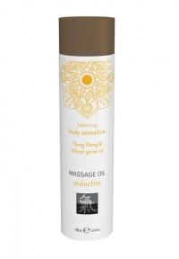 SHIATSU BODY SENSATION MASSAGE OIL YLANG YLANG AND WHEAT GERM OIL - erotyczny olejek do masażu