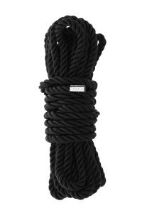 BLAZE BONDAGE ROPE BLACK DELUXE - specjalistyczny sznur do krępowania 5 metrów