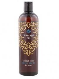 EROTIC MASSAGE OIL COCONUT SCENT - olejek do zmysłowego masażu