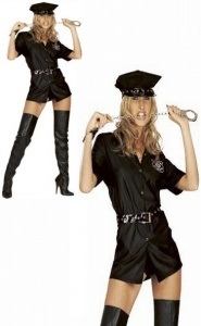 X-DARING FANTASIES COLLECTION  - POLICE WOMAN -kostium policjantk