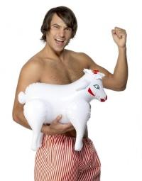 EROTIC EWE BLACK SHEEP - nadmuchiwana owieczka imprezowa